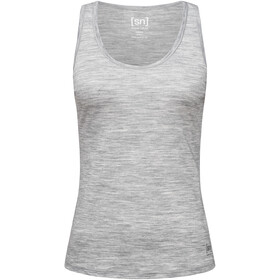 super.natural Base 140 Tank Women ash melange